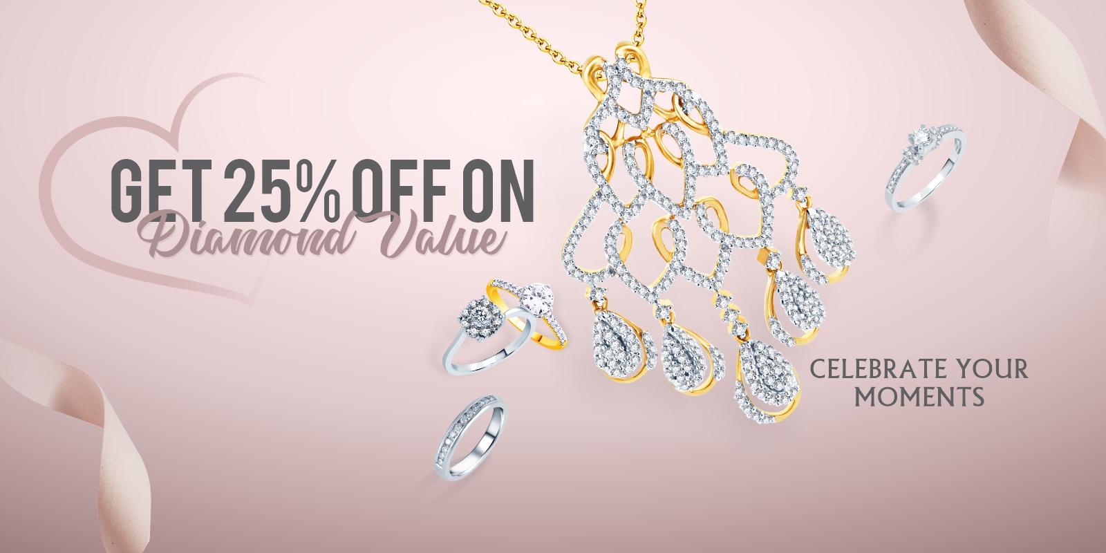 Get 25% Off on Diamond Value