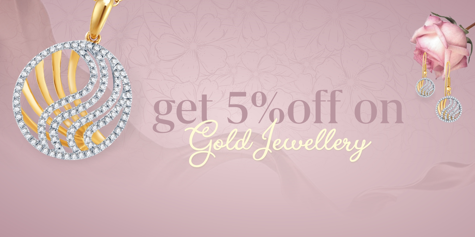 Get 5% OFF on Gold Jewellery