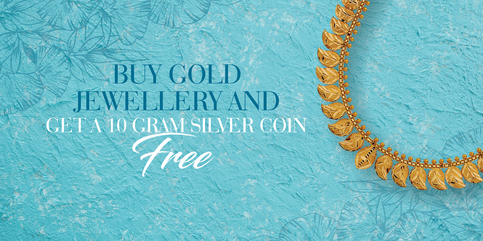 Silver Coin free on Gold Jewellery