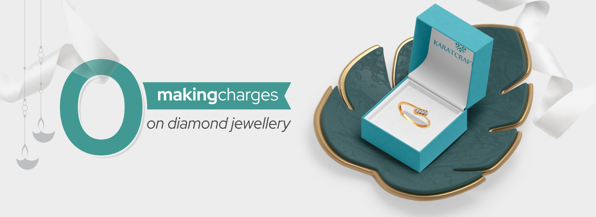 0% making charges on diamond Jewellery.