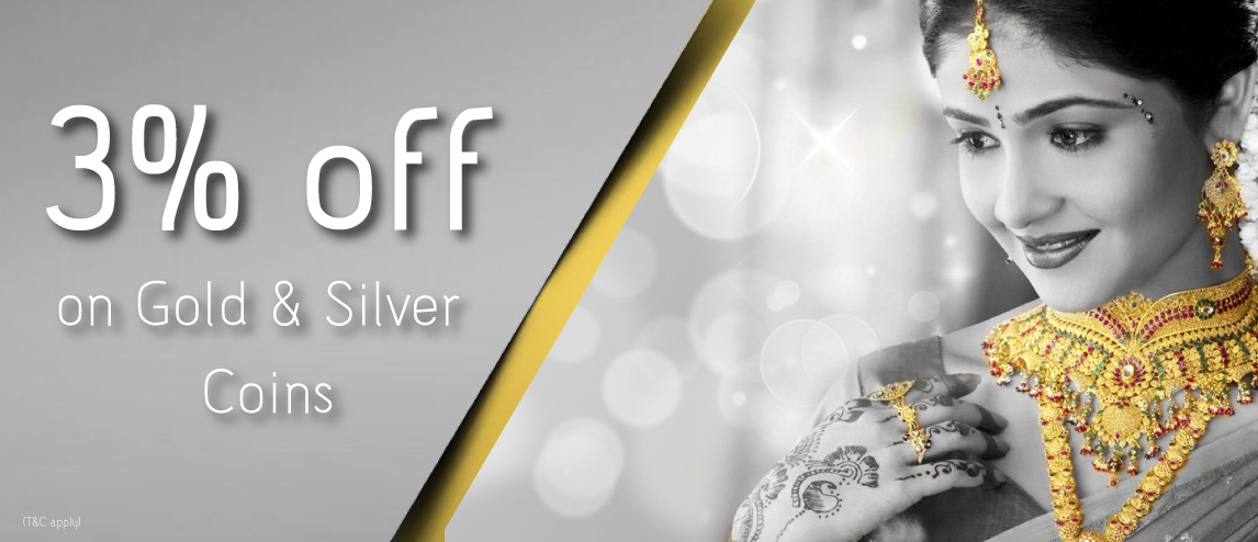 30% off on Gold & Silver Coins